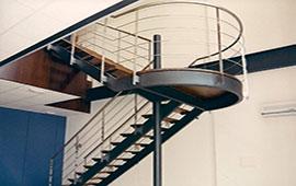 escalera-de-hierro